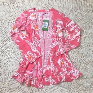 NWT Lilly Pulitzer Little Katia girls wrap top